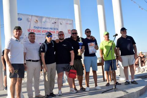 Парусная регата крейсерских яхт  «Кубок Крыма 2020» в Черноморском