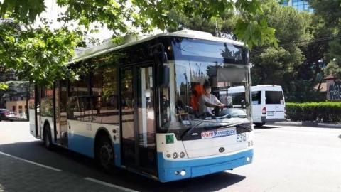 В общественном транспорте продолжаются мероприятия по предупреждению распространения коронавирусной инфекции